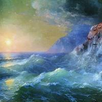 JENNIE B by Aivazovsky Waves