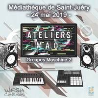 Atelier M.A.O. #01 (Maschine 2) / 03. Jerome & Joan by Wesh Conexion