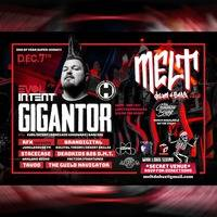 Melt drum & bass set Gigantor show 12.07.2019 by Brandigital