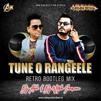Tune o angeele- Retro Bootleg Mix -Dj Abk & Dj Nitish Sharma by Dj Abk Abhishek