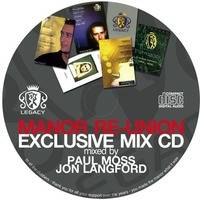 Manor Re-Union Exclusive Mix CD by JonLangford