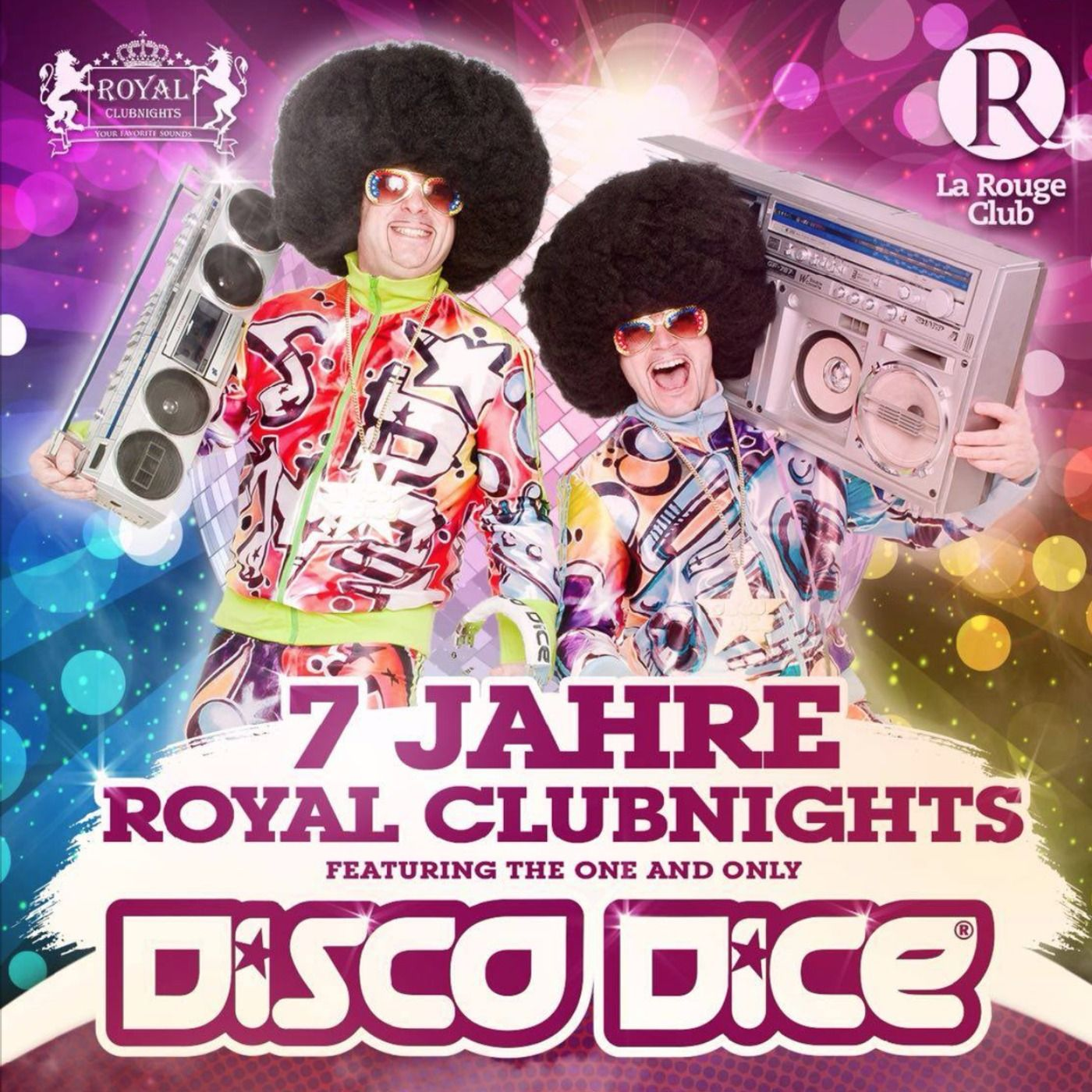 Disco Dice live @ 7 Jahre Royal Clubnights @ LaRougeClub