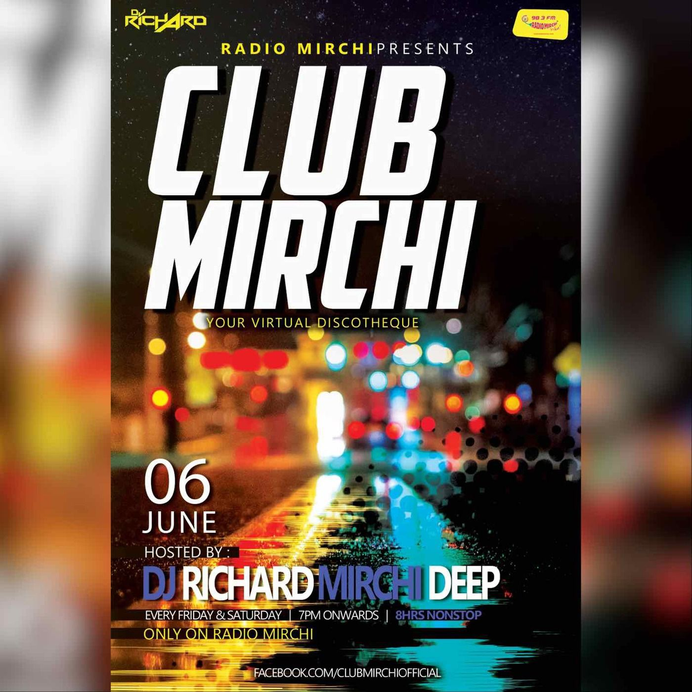 ClubMirchi EP 06-06-20 with DJ Richard & Mirchi Deep