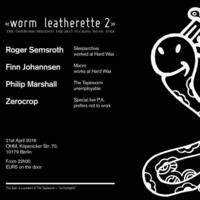 Live At Worm Leatherette April 21 2016 Part 2 by Finn Johannsen