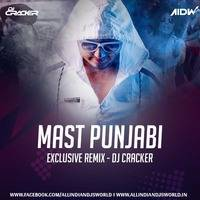 Mast Punjabi (Exclusive Mix) - DJ Cracker by ALL INDIAN DJ'S WORLD.IN