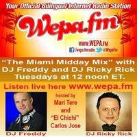 Wepa FM Presents The Lunch Time Mix with DJ Freddy Latin Mix 3 29 16 by Freddy Lopez