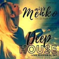 Miss Menko - Deep House Session #147 by Clubbers Planet